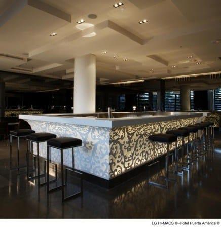 HI-MACS® Hotel Puerta América, Madrid - Photo Credits diephotodesigner.de
