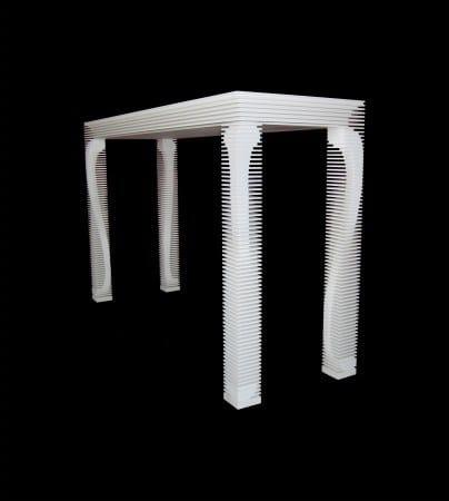 HI-MACS® Anne Table by Gareth Neal