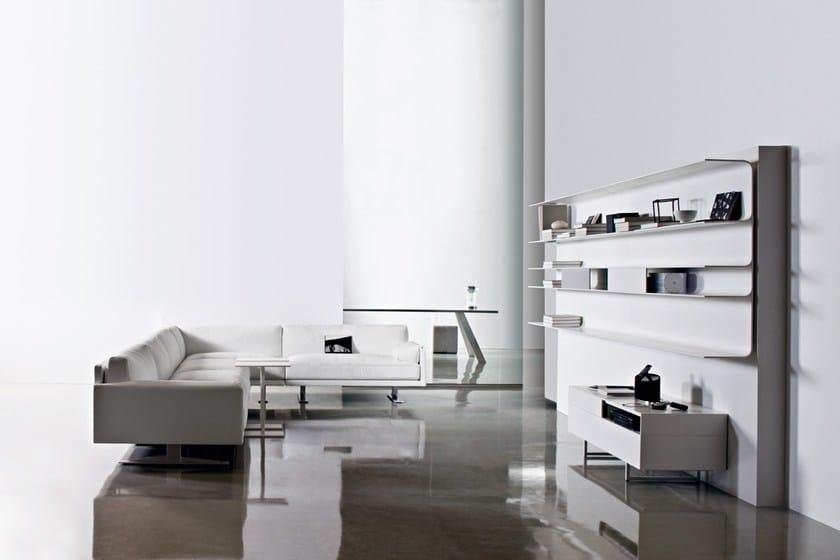 HI-MACS® Design: Bruno Fattorini & Partners - Manufacturer: Gruppo Industriale Busnelli Spa - Material: HI-MACS® Alpine white - Photographer: Studio Eye