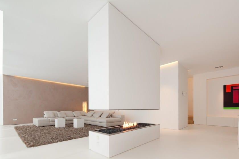 HI-MACS® Private House in Germany - Design: Karl Dreer - Fabrication: Dreer GmbH – Klöpfer Surfaces - Project implementation: Felix Bembé & Sebastian Dellinger - Photographer: ©Dirk Wilhelmy