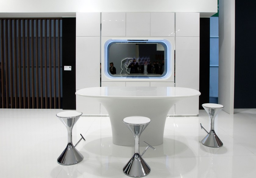 HI-MACS® Karan, Design by Karim Rashid for Aran Cucine