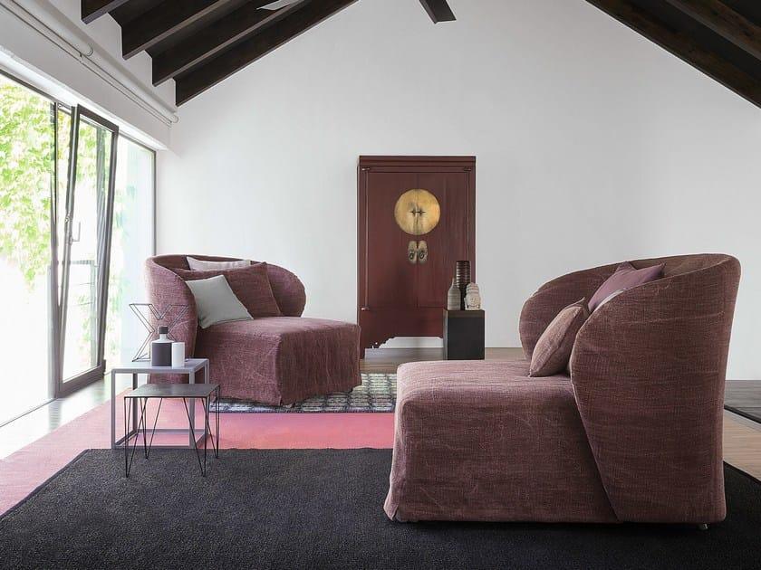 CÉline poltrona letto by flou design riccardo giovanetti