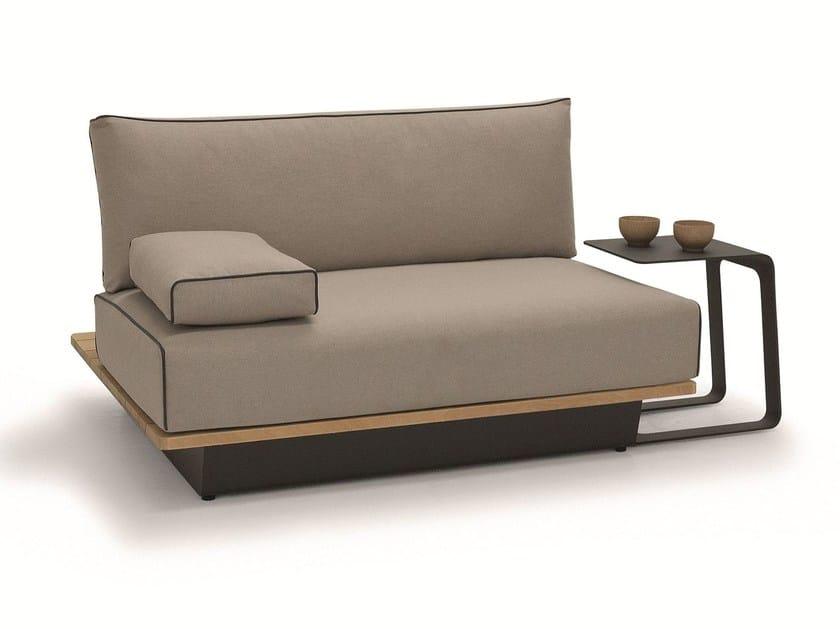 Modular fabric garden armchair AIR | Garden armchair by MANUTTI