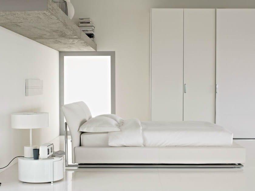 Upholstered storage bed SAILOR by Flou