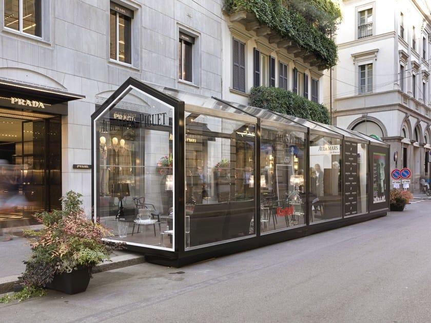 gazebo glass. glass and steel gazebo glass house by cagis