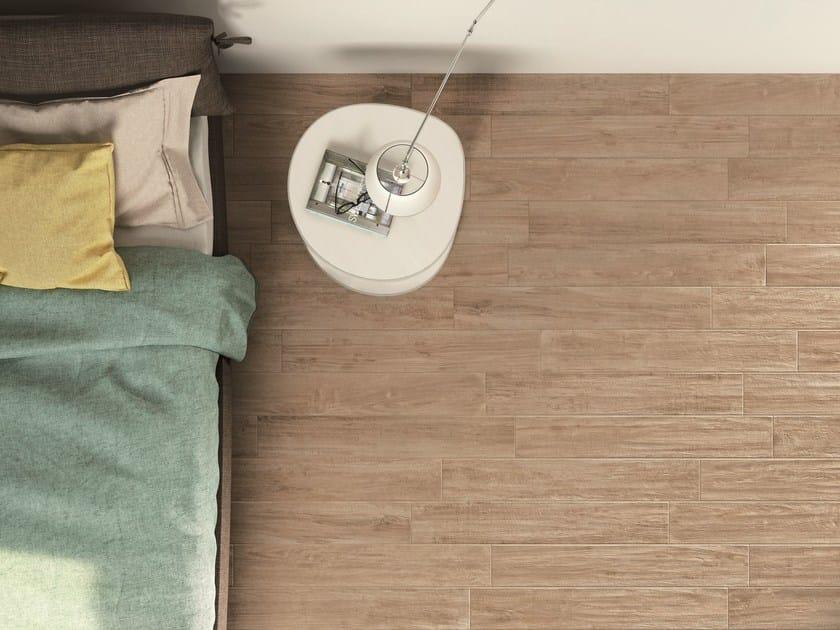 Glazed stoneware flooring with wood effect WOODCOMFORT by Ragno