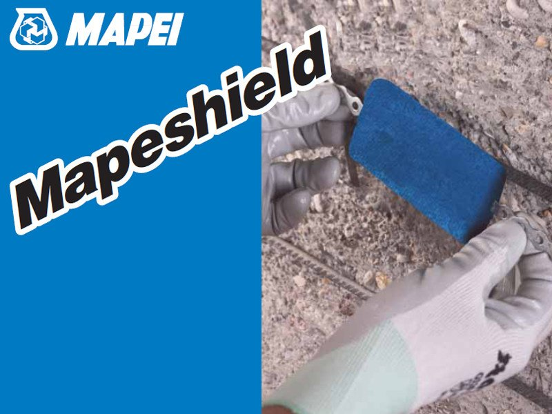 Anti corrosion product MAPESHIELD by MAPEI
