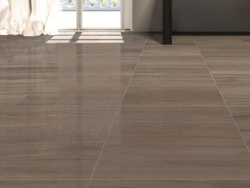Glazed stoneware wall/floor tiles with marble effect MARBLELINE by MARAZZI