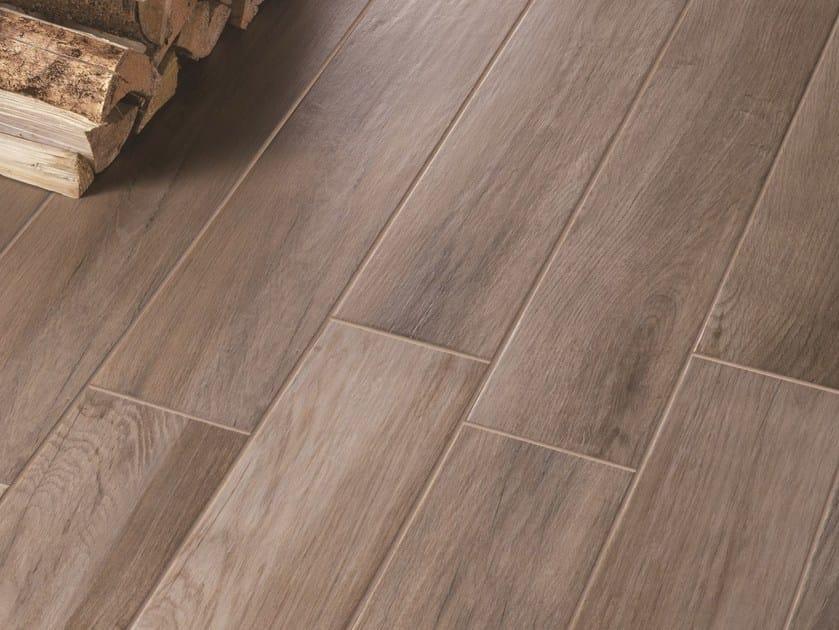Pavimento in gres porcellanato smaltato effetto legno treverkmood marazzi - Piastrelle finto mattone ...