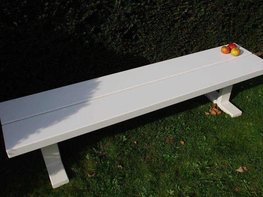 Iroko garden bench BENCH by CASSECROUTE
