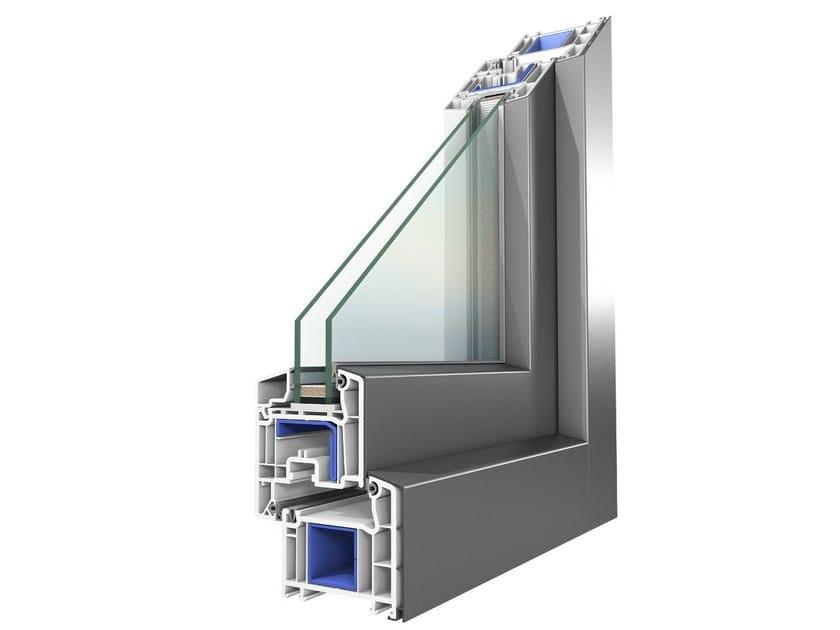 Fenêtre En Aluminium Et Pvc Avec Double Vitrage Koncept Alu By Oknoplast
