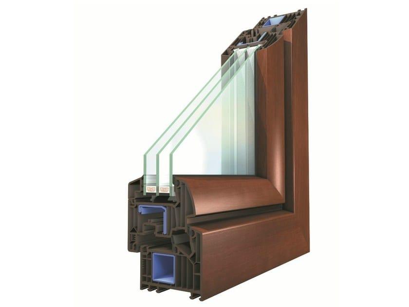 PVC triple glazed window WINERGETIC PREMIUM by Oknoplast