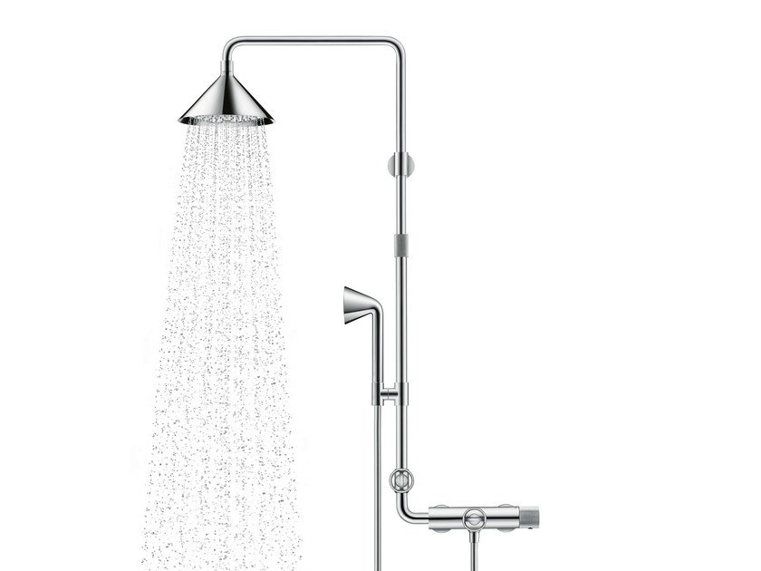 Stainless Steel Shower Panel AXOR SHOWER PIPE By Hansgrohe