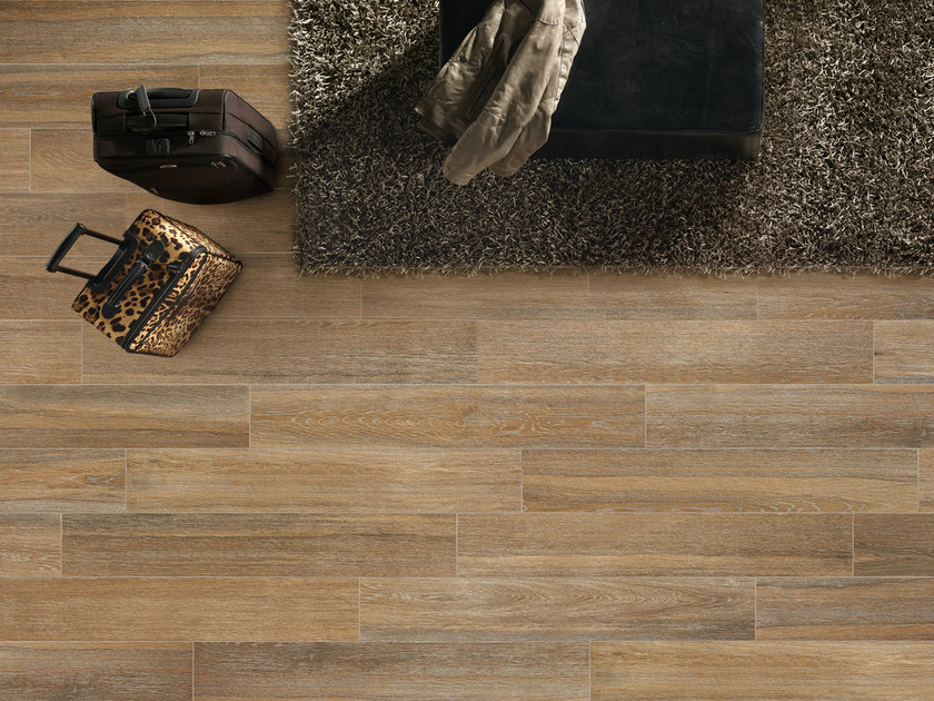 Porcelain stoneware wall/floor tiles with wood effect ELEGANCE AMBRE by EDIMAX CERAMICHE