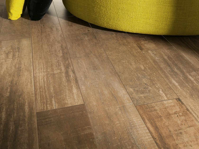 Porcelain stoneware wall/floor tiles with wood effect STYLE IN ...