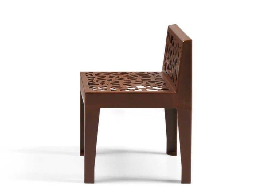 Corten™ garden chair COLOR CORTEN STYLE | Garden chair by Metalco