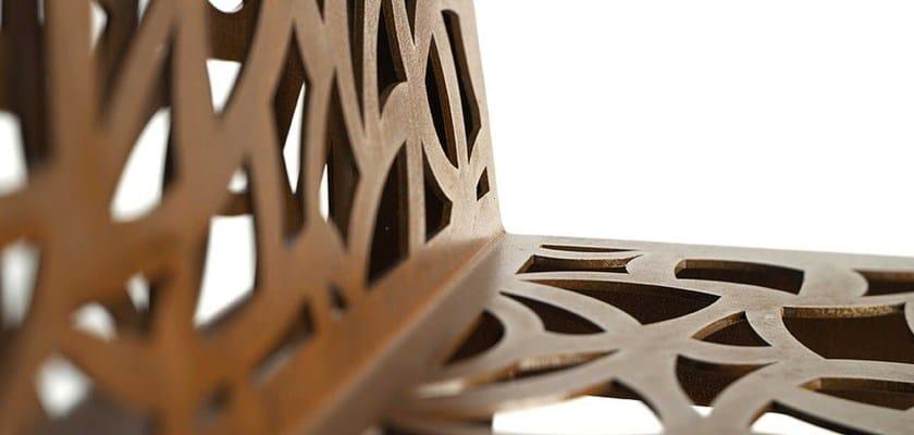 COLOR CORTEN STYLE | Sedia da giardino