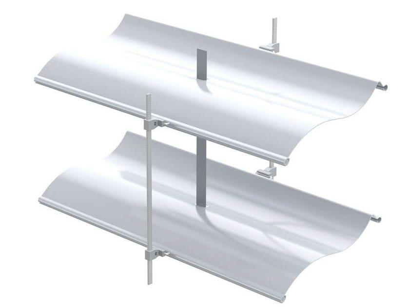 Adjustable aluminium solar shading AR 92 S ECN® | Solar shading by HELLA
