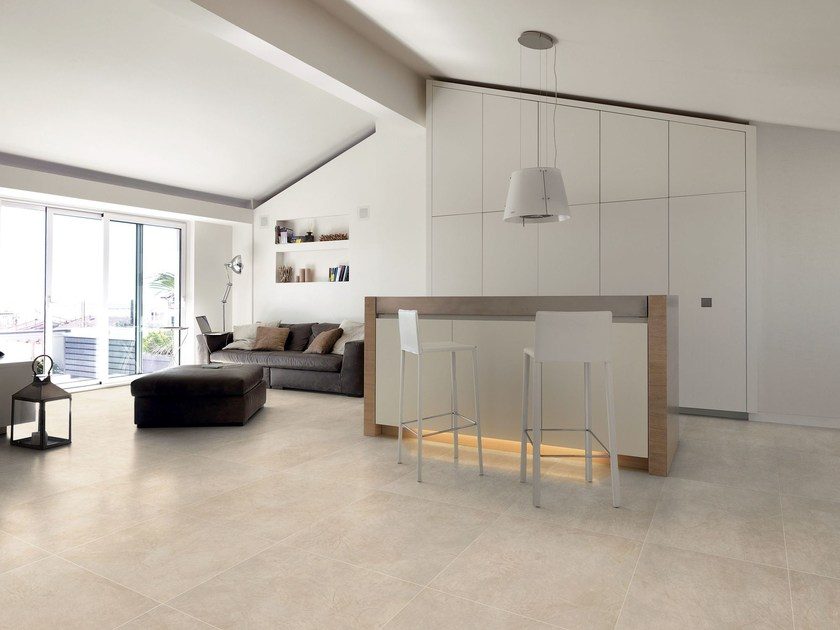 Ceramic flooring with resin effect ARTWORK by Ceramiche Refin