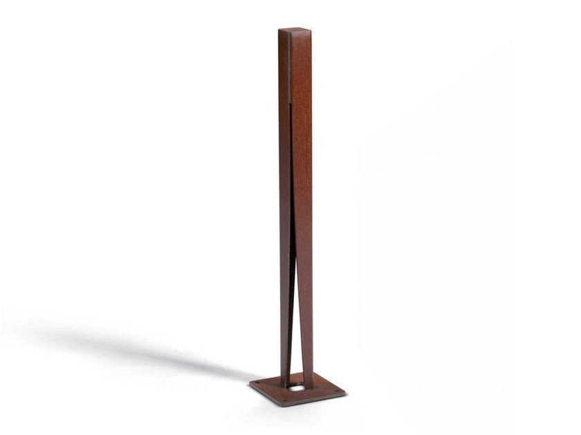 Corten™ bollard post EXPLOSION | Bollard by Metalco