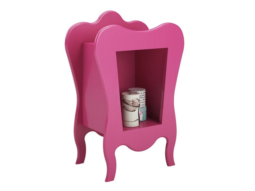 Lacquered kids' bedside table VOLUTE | Kids' bedside table by Mathy by Bols
