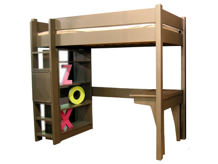 Loft wooden bed NEW CLASSICS   Loft bed by Mathy by Bols