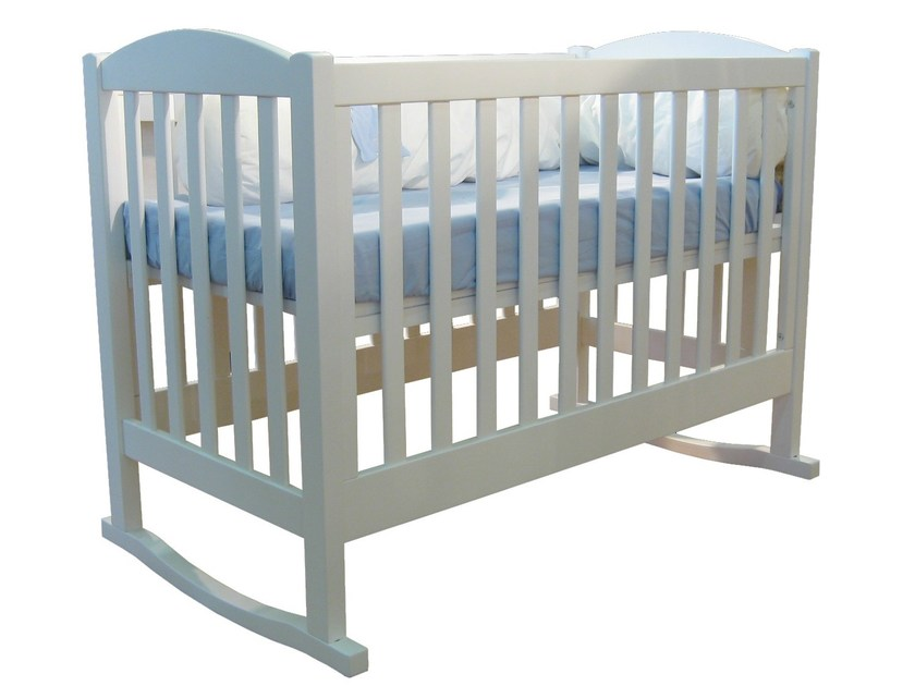 Rocking wooden cot TILLEUL | Rocking cot by Mathy by Bols