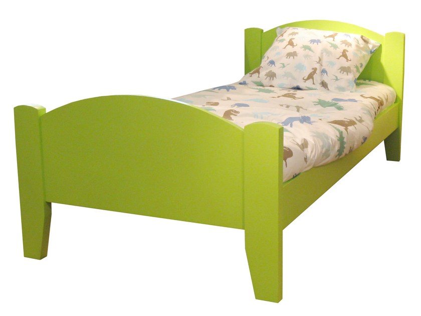 Wooden single bed TILLEUL | Wooden bed by Mathy by Bols