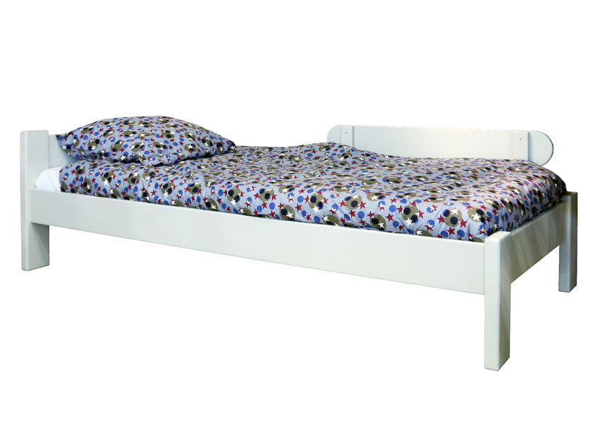 Wooden single bed DOMINIQUE | Bed by Mathy by Bols