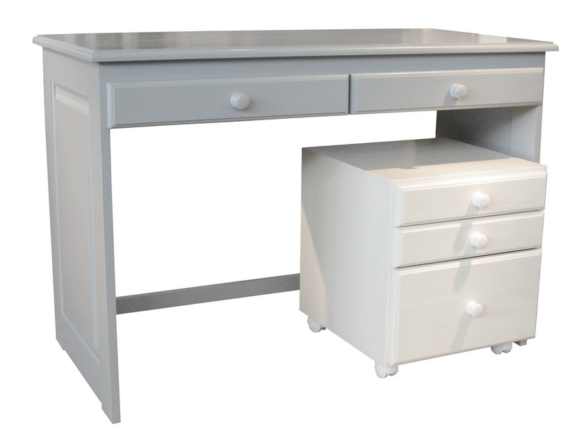 Kids writing desk with drawers DOMINIQUE | Writing desk by Mathy by Bols