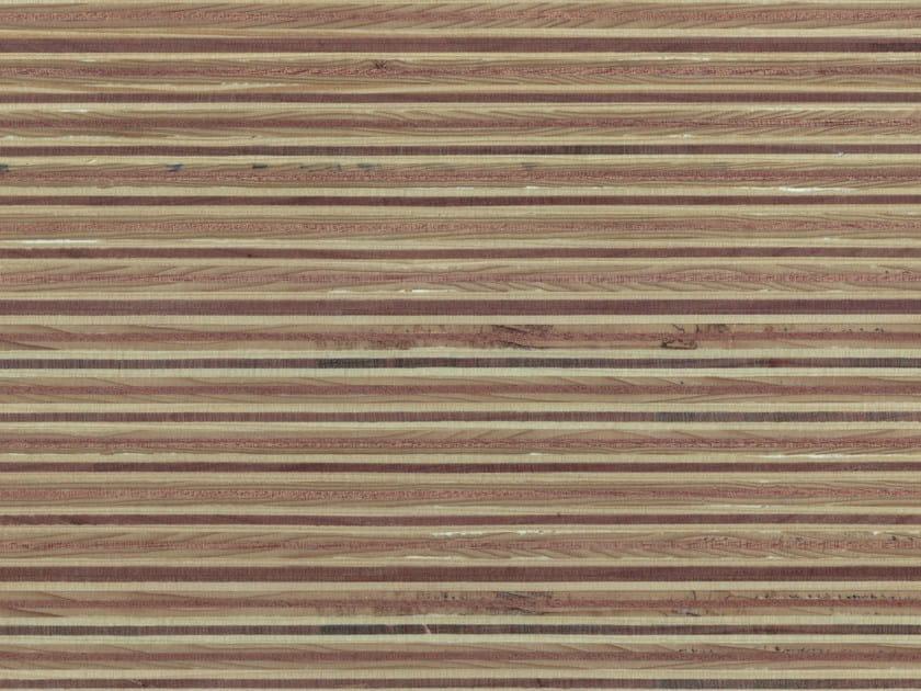 Wooden Veneered panel PLEXWOOD® PINE/OCOUMÈ by Plexwood