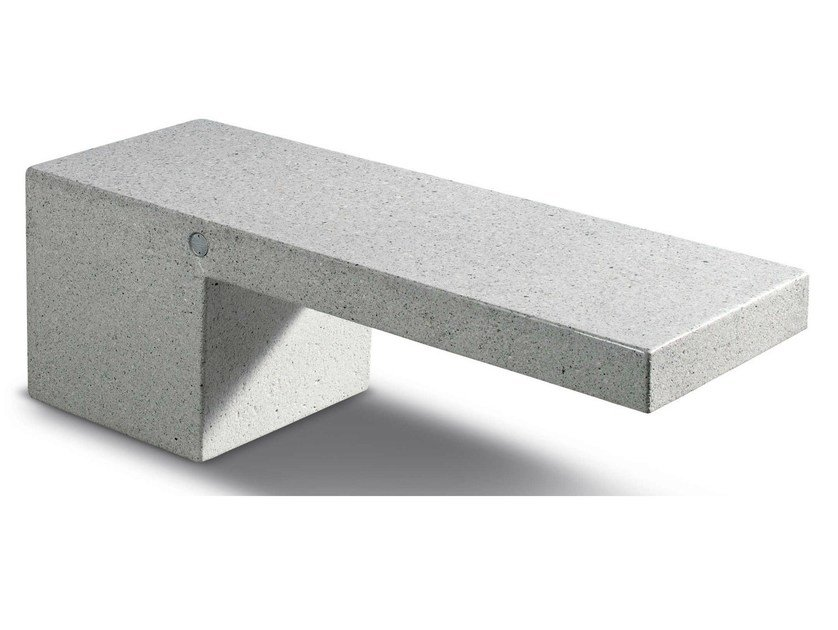 Composite material Bench AMBRA by Metalco