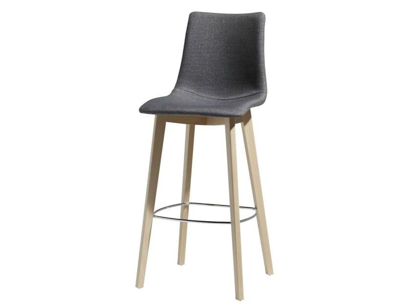 Upholstered stool NATURAL ZEBRA POP | Stool by SCAB DESIGN