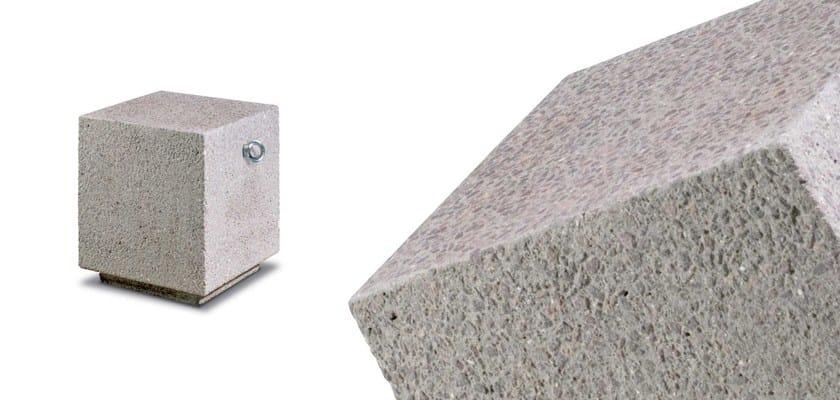 CORALLO | Dissuasore in pietra ricostruita