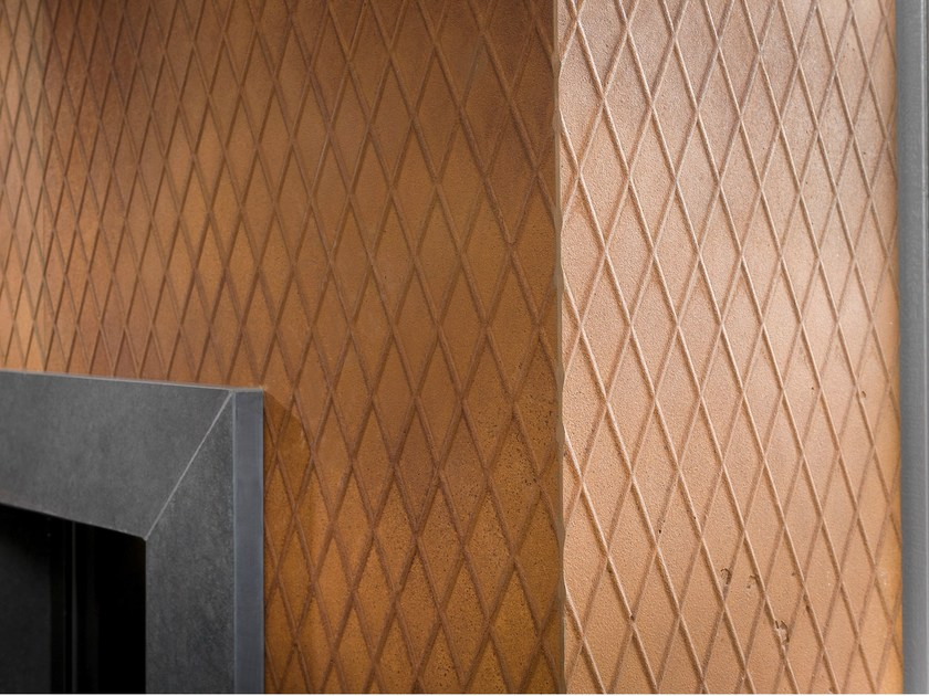 Wall tiles with metal effect IMI-ROST® by LEGNOPAN