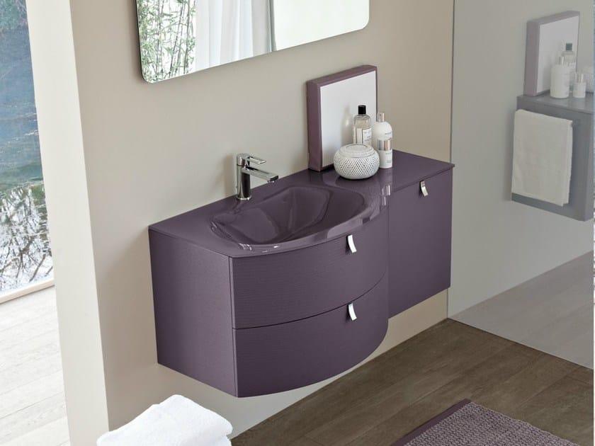 Mobile lavabo con cassetti comp mfe15 by idea - Lavabo con mobile e prezzi ...