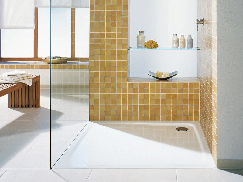 Flush fitting shower tray SUPERPLAN by Kaldewei Italia