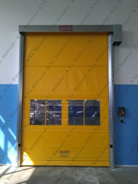 Porta ad avvolgimento rapido verticale Porta ad Arrotolamento
