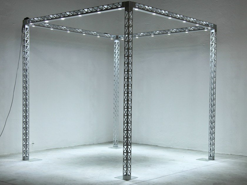 Prefabricated structure EXPOLIGHT by SELVOLINA