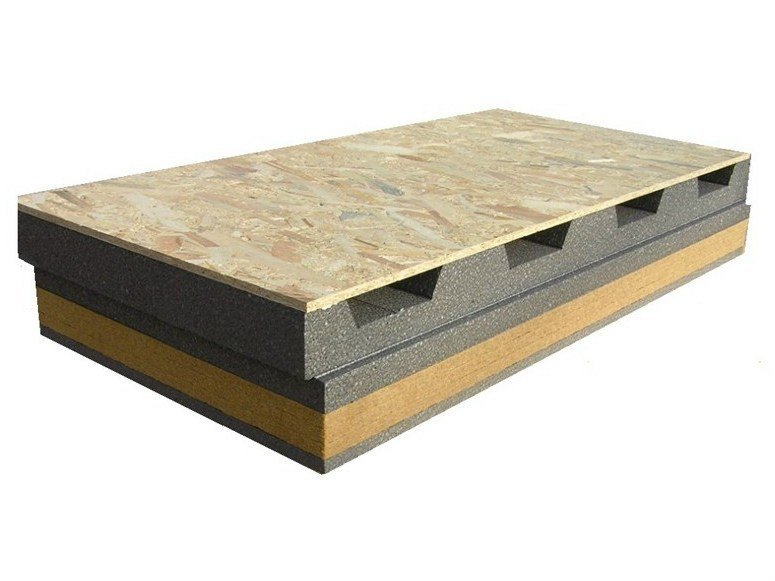 Ventilated roof system AIREK GREYWOOD | Ventilated roof system by RE.PACK