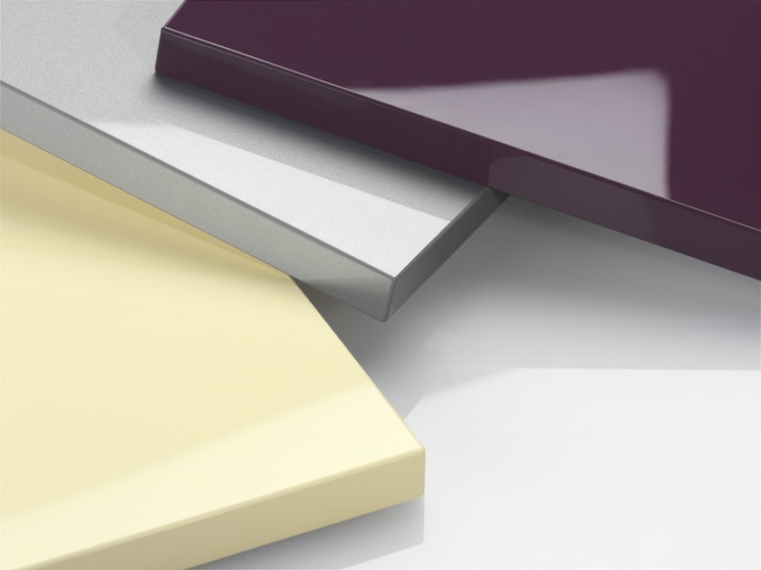 Laminate furniture foil RAUVISIO BRILLIANT by REHAU