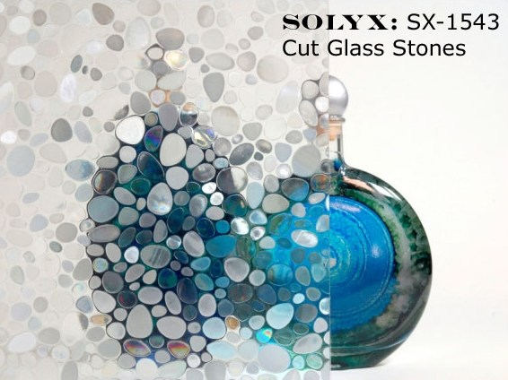 Decorative window film SOLIX by FOSTER T & C