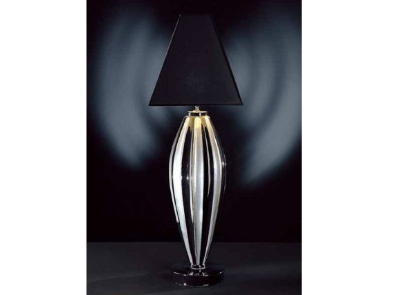 Table lamp NERO/PLATINUM by Transition by Casali