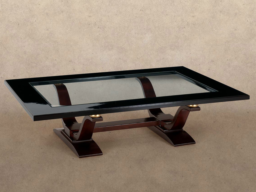 Low rectangular coffee table 4062 | Coffee table by Transition by Casali