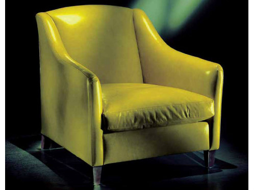 Upholstered armchair with armrests 3027C | Armchair by Transition by Casali