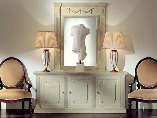 Sideboard with doors with mirror AMBIANCE 102 | Sideboard by Transition by Casali