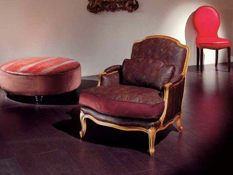 Upholstered armchair with armrests AMBIANCE 112   Armchair by Transition by Casali