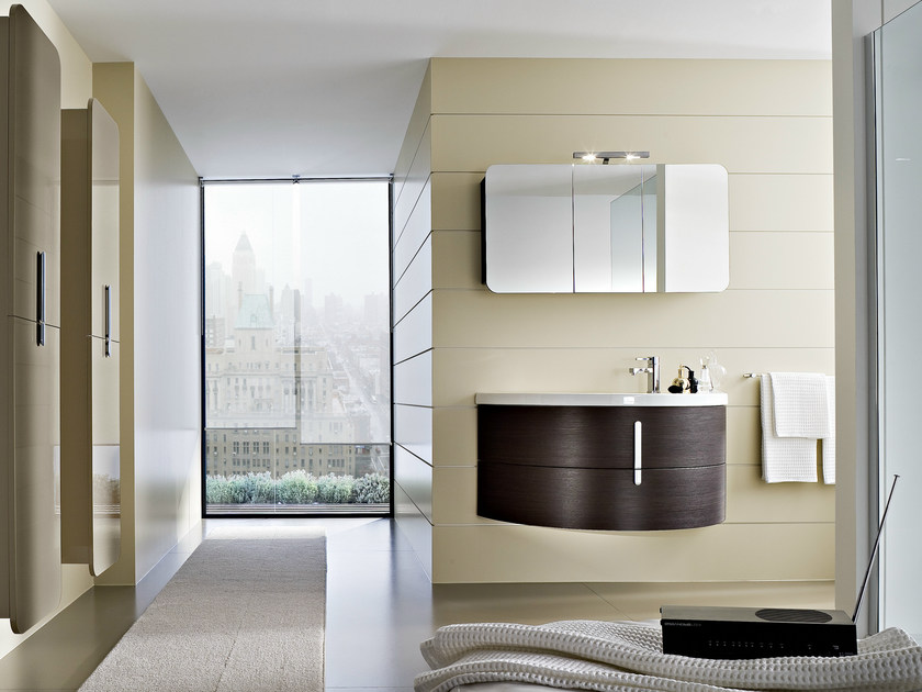 Vanity unit with drawers COMP M09 by Idea