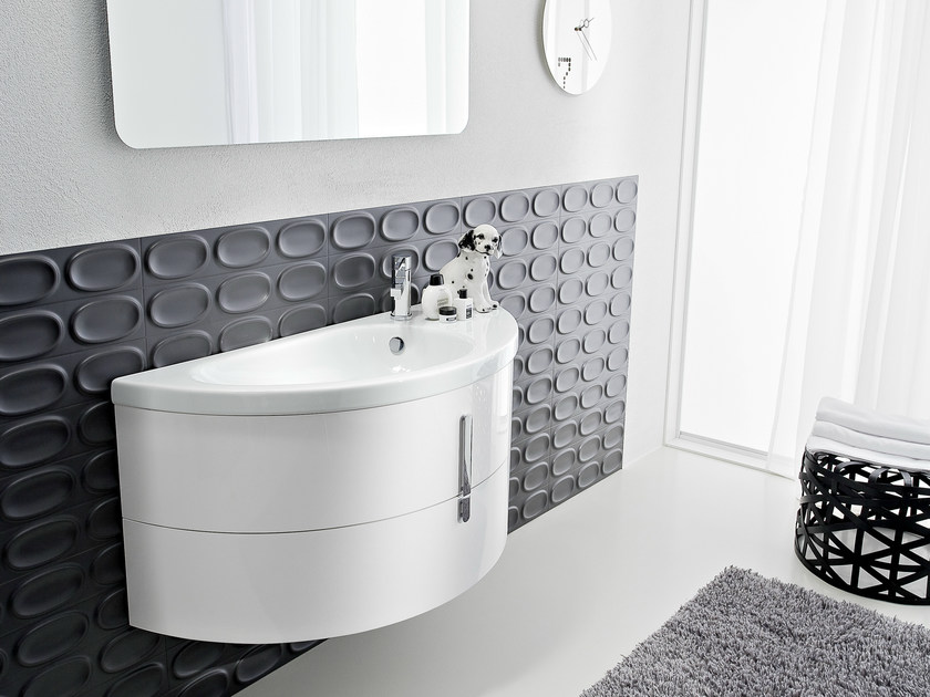 Vanity unit with drawers COMP M01 by Idea