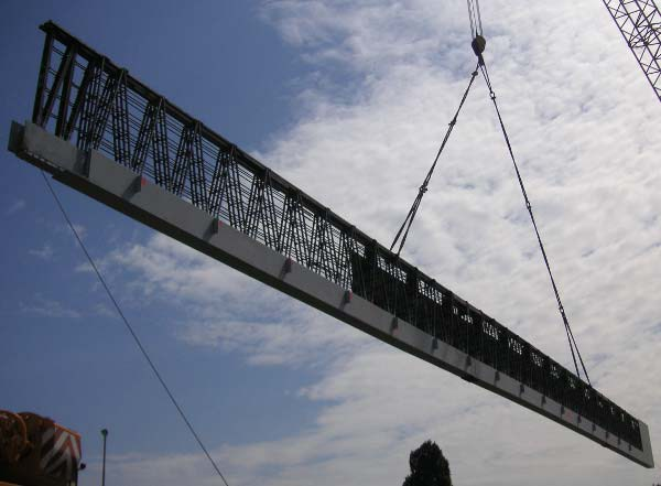 Trave NPS® BASIC Trave REP® Nor lunga 55m ed alta 3. Teatro di Vicenza.